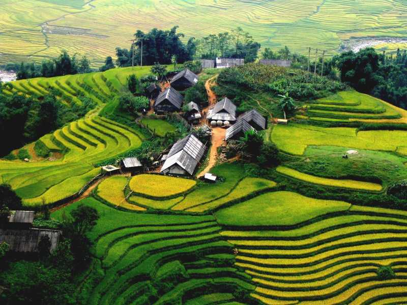 Sapa Tour - 1 Day - Visit Villages: Y Linh Ho - Lao Chai - Ta Van